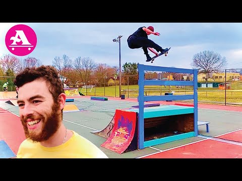 ALL I NEED SKATE: Heavy uxbridge skatepark SESSION with Goonan, Drowne, Mansolillo, Klemme, Egan!!!