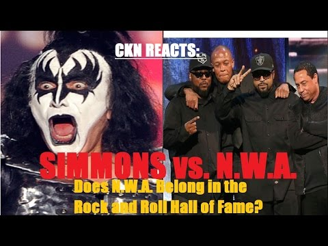 CKN Reacts: GENE SIMMONS vs. N.W.A. (Should they be in the Rock & Roll Hall of Fame?)