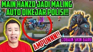 COBAIN SKIN BARU HANZO JADI MALING!! DIKEJARR TERUSSS!!! AMPUNNN