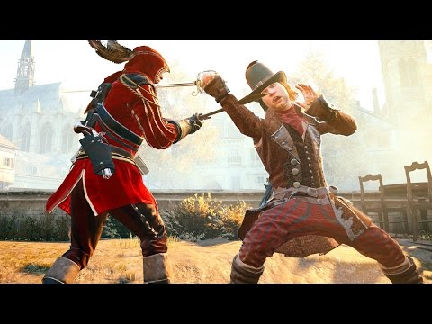 Assassin's Creed Unity Legendary Musketeer Vs All Museum Guards