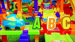Smart Wheel City: Letter Hunt! VTech Go! Go! Smart Wheels Alphabet Game