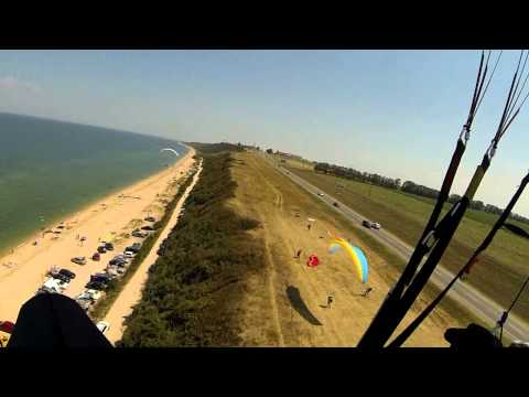 Полёты на побережье Азовского моря