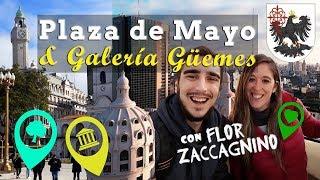 Plaza de Mayo & Galería Güemes con Viaje y Descubra