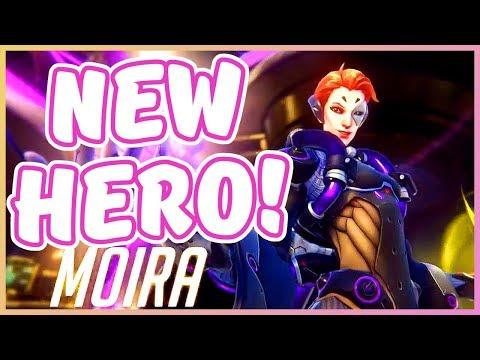 Overwatch - NEW HERO MOIRA (Hero 26 Revealed!)