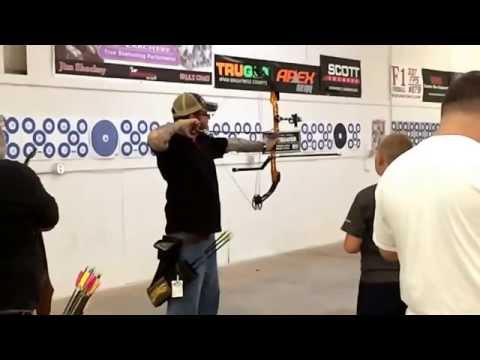 Awesome slow motion...Archery Turkey League in Del City, OK. Hit or miss? You decide. May 2014