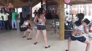 Sri lankan girls super  dance ලංකාවෙ කෙල්ලො 3ක් දාන සුපිරි නැටුම