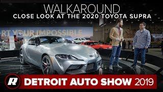 Walkaround: 2020 Toyota Supra up close | Detroit 2019