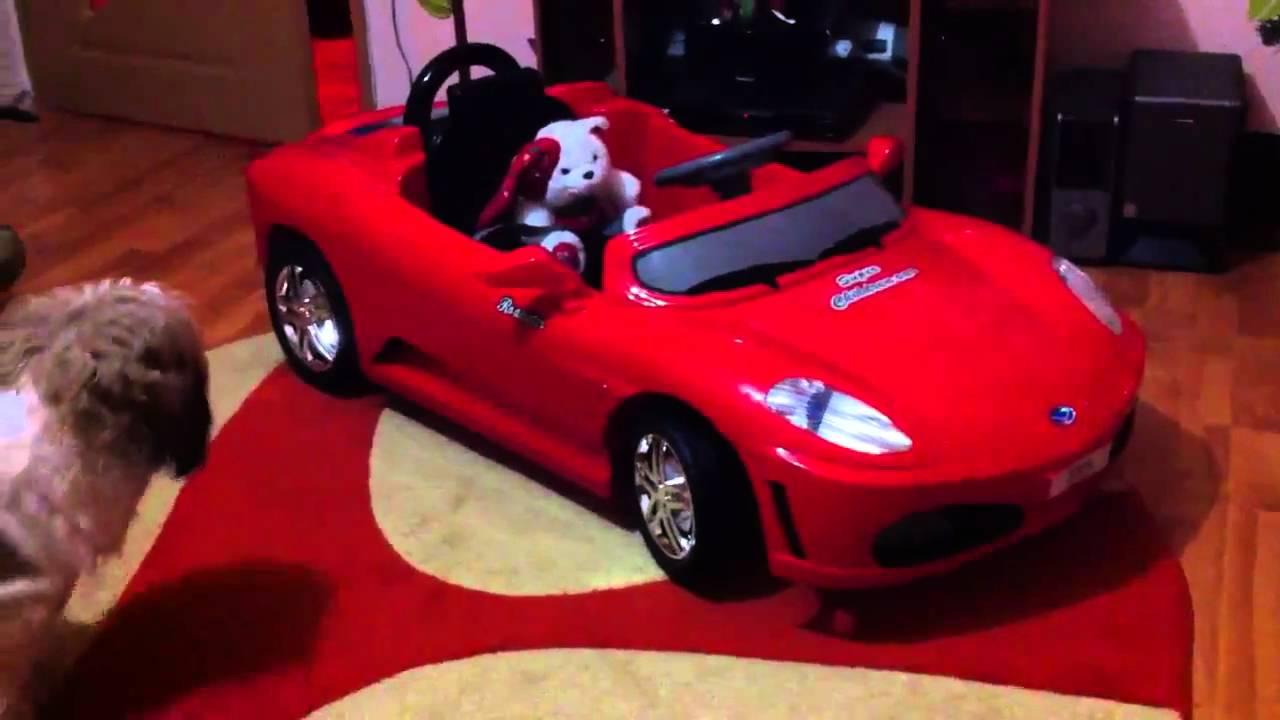 Twin Motor Ferrari F430 Kids Car Youtube