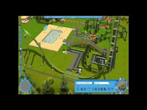 rollercoaster tycoon 4. Let#39;s Play Roller Coaster
