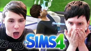 DIL NEARLY DIES - Dan and Phil Play: Sims 4 #5