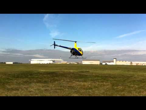 Approach and landing in the r22