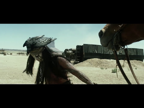 The Lone Ranger - Arresting Tonto Clip (HD) Johnny Depp, Armie Hammer