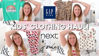 KIDS CLOTHING HAUL | BOY AND GIRL | NEXT, GAP KIDS, JOULES