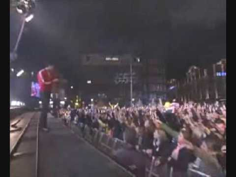 Dj tiesto - live on damsquare amsterdam