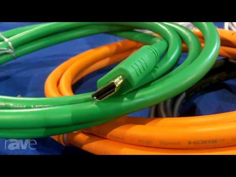 CEDIA 2013: Comprehensive Cable Showed ProAV AV/IT Cable Designed By Systems Integtrators
