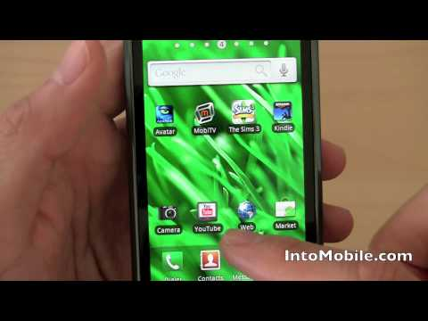 T-Mobile Samsung Vibrant (Galaxy S) software and UI tour