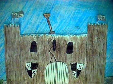 Castell Trefaldwyn - Montgomery Castle gan/by Montgomery School