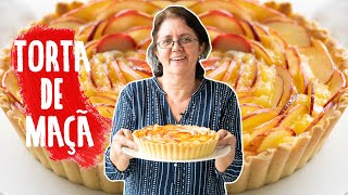 TORTA DE MAÇÃ pra SUA MÃE feita por UMA MÃE | DIA DAS MÃES