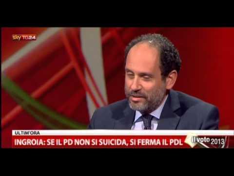 Ilaria D'Amico vs Antonio Ingroia – Lo Spoglio 23/01/2013 – (3/5)
