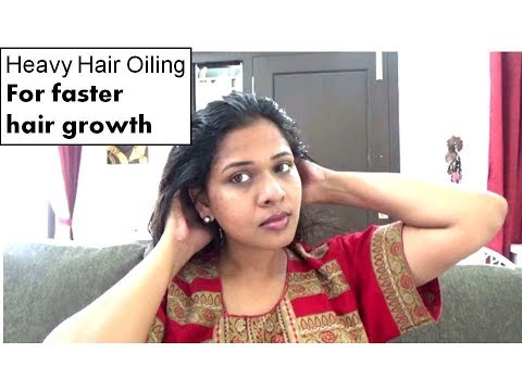HEAVY HAIR OILING for FASTER HAIR GROWTH |  Step By Step