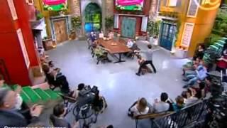 """Моника Мендес  - Африканские танцы на телешоу """"Давай поженимся!"""" - первый канал ОРТ"""