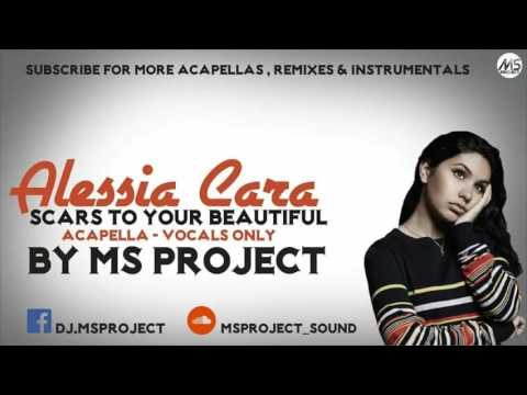 Alessia Cara - Scars To Your Beautiful (Acapella - Vocals Only)