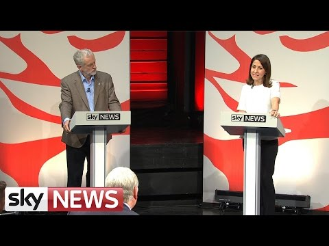 Labour Debate: Corbyn Vs Kendall On The EU
