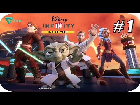 Disney Infinity 3.0 - Twilight Of The Republic - Capitulo 1 - 1080p HD