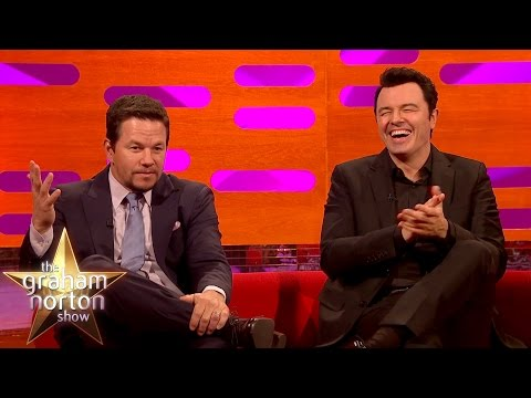 Mark Wahlberg and Seth MacFarlane Censorship Gone Horribly Wrong - The Graham Norton Show