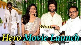 Vijay Deverakonda Hero Movie Launch | Malavika Mohanan, Anand Annamalai, Koratala Siva |Silverscreen