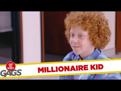 Throwback Thursday - Millionaire Kid Prank