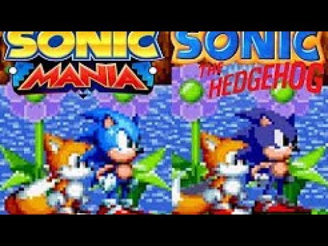 Sonic 1/CD Sprites PREVIEW 2 ( CANCELLED FOR BE TO SHITYY XD)   Sonic Mania MOD