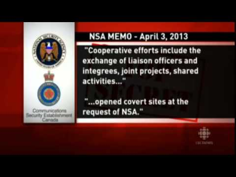 """Why Canada NSA spying"" for USA secret surveillance"