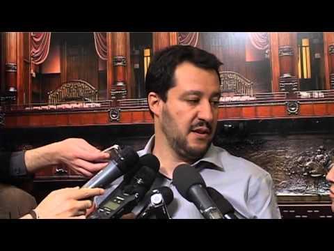 Intervista a Matteo Salvini su Alfano