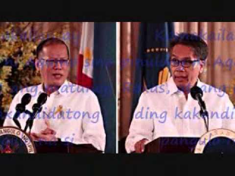 VP bet ng LP, si PNoy din ang pipili, ayon kay Roxas pnoy pipili payahag ni roxas.