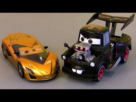 Hot Rod Mater Cars 2 Fabrizio Metallic Finish Chase