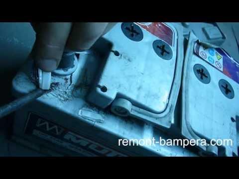 Чем заклеить аккумулятор автомобиля своими руками