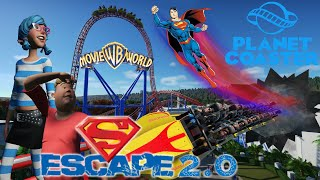 Planet Coaster Superman Escape 2.0