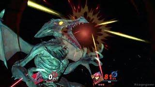 Super Smash Bros. Ultimate Gameplay ( Ridley & more ) - Nintendo Treehouse E3 2018