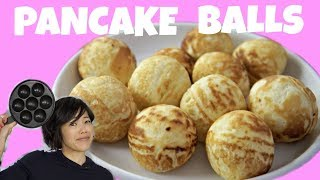 ÆBLESKIVER Danish PANCAKE BALLS | Recipe & Gadget test