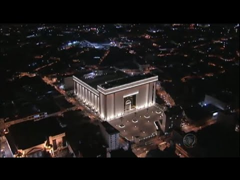 Templo de Salomão da IURD em detalhes / IURD's Salomon's Temple in details (Rede Record)
