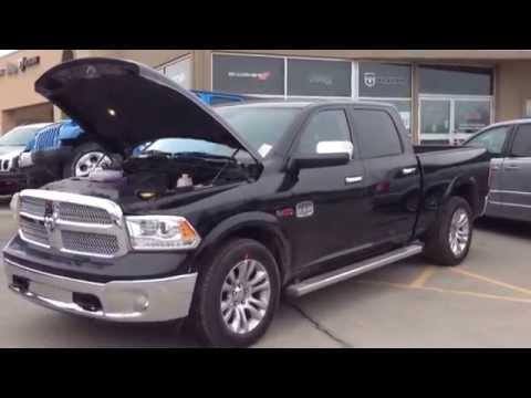 2014 black ram 1500 laramie longhorn ecodiesel first look newmarket ontario maciver dodge jeep. Black Bedroom Furniture Sets. Home Design Ideas