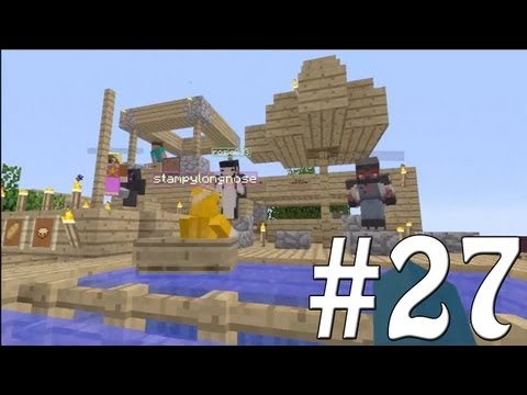 Minecraft Xbox – Sky Island Challenge – Party Time!! [27] – 2MineCraft.com