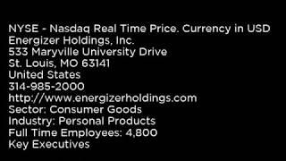 ENR - Energizer Holdings, Inc. ENR buy or sell Buffett read basic