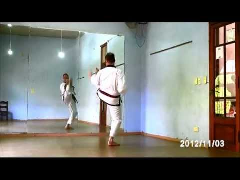 PYUNG AHN EE DAN HYUNG (#2) - PYONG AHN I DAN HYONG (Nro.2)