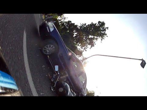 Wypadek Oczami Motocyklisty / Motorcycle Crash CB500 POV