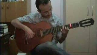 Bülbülüm - Turksih Folk Song arranged for Classical Guitar