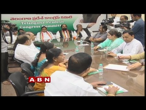 Leaders upset over Seniors Leaders in Telangana Congress