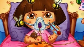 Dora The Explorer Doctor Caring - Dora Cartoon Game For Kids
