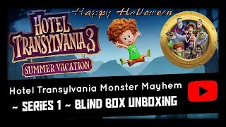 HALLOWEEN SPECIAL ~ HAUNTED HOUSE ~ HOTEL TRANSYLVANIA 3 BLIND BOX UNBOXING ~